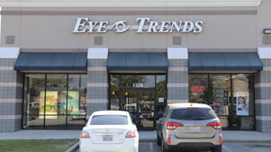 Eye Trends Conroe Front of Building Image
